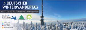5. Deutscher Winterwandertag 2023 @ Ochsenkopf/Fichtelgebirge | Fichtelberg | Bayern | Deutschland
